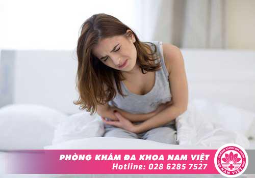 Phì đại cổ tử cung thường gây đau bụng dưới
