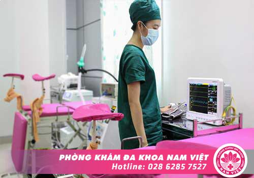 Phòng Khám Đa Khoa Nam Việt - Địa chỉ đình chỉ thai an toàn nhất tại TPHCM