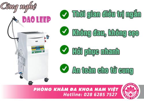 Những ưu điểm của phương pháp điều trị bằng Dao LEEP