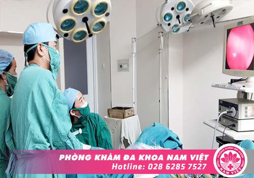 Điều trị tắc ống dẫn trứng bằng phẫu thuật nội soi