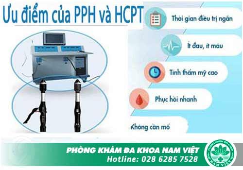 Phương pháp điều trị trĩ hỗn hợp dứt điểm: PPH - TST & HCPT