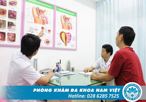 Đến với Đa Khoa Nam Việt để xét nghiệm sùi mào gà chính xác