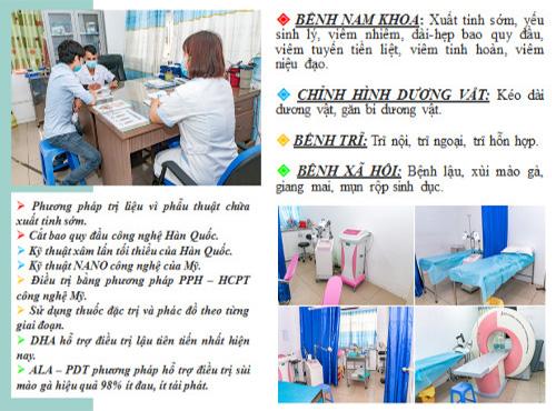 Phòng khám Nam Khoa Nam Việt là địa chỉ được nhiều nam giới lựa chọn điều trị