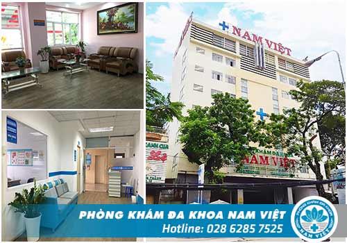 Phòng Khám Đa Khoa Nam Việt - Địa chỉ thăm khám nam học uy tín tại Sài Gòn