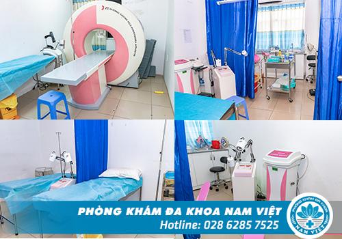 Đa Khoa Nam Việt luôn đầu tư ơ sở vật chất, máy móc thiết bị hiện đại