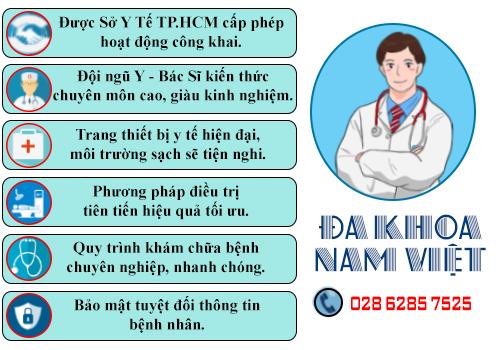 Phòng khám Nam Việt nơi điều trị dứt điểm tình trạng tiểu buốt ở nam giới
