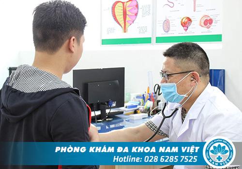 Quy trình thăm khám nam khoa tại Đa Khoa Nam Việt