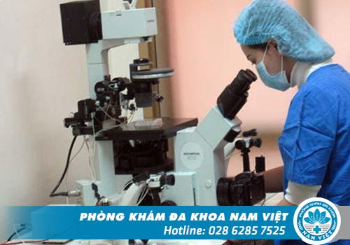 PKĐK Nam Việt đầu tư máy móc hiện đại để xét nghiệm bệnh xã hội chính xác