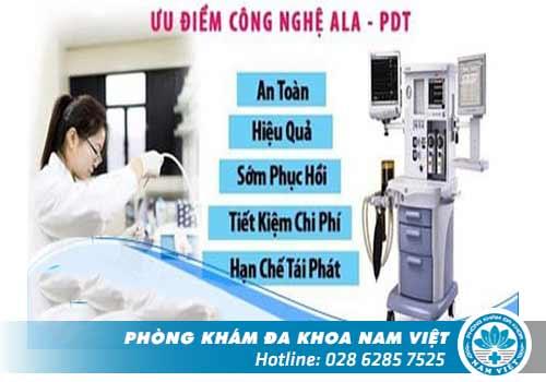 Kỹ Thuật ALA - PDT hỗ trợ điều trị hiệu quả sùi mào gà