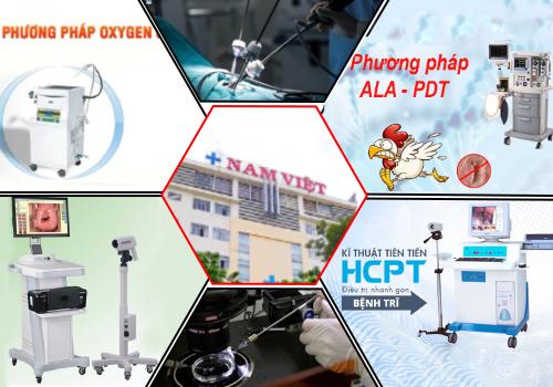 Đa Khoa Nam Việt chuyên áp dụng các phương pháp hiện đại vào điều trị bệnh