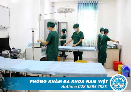 Phòng khám luôn chú trọng đầu tư cơ sở vật chất, trang thiết bị hiện đại