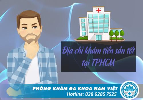 Thế nào là địa chỉ khám tiền sản tốt tại TPHCM