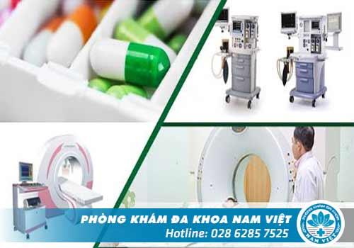 Đa khoa Nam Việt - Địa chỉ chuyên điều trị tình trạng tiểu buốt tại TPHCM