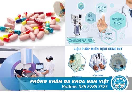 Đa Khoa Nam Việt luôn đi đầu trong việc ứng dụng các công nghệ mới vào điều trị bệnh