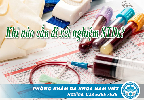 Khi Nào Cần Thực Hiện Xét Nghiệm STDs?